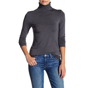 14th and Union | XL Grey Long Sleeve Turtleneck